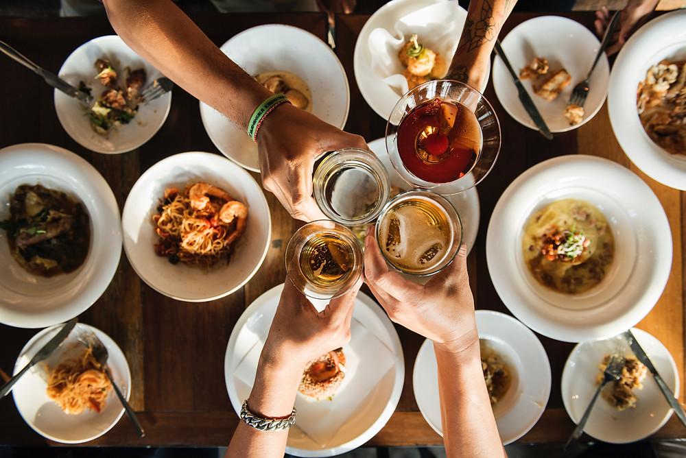 harmonizar bebidas e comidas