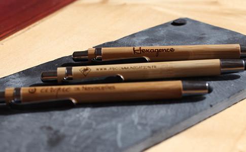 stylo bois