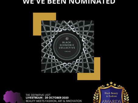 We've Been Nominated for an Award!