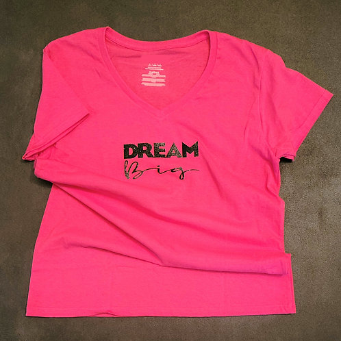 Dream Big - Fitted T-shirt