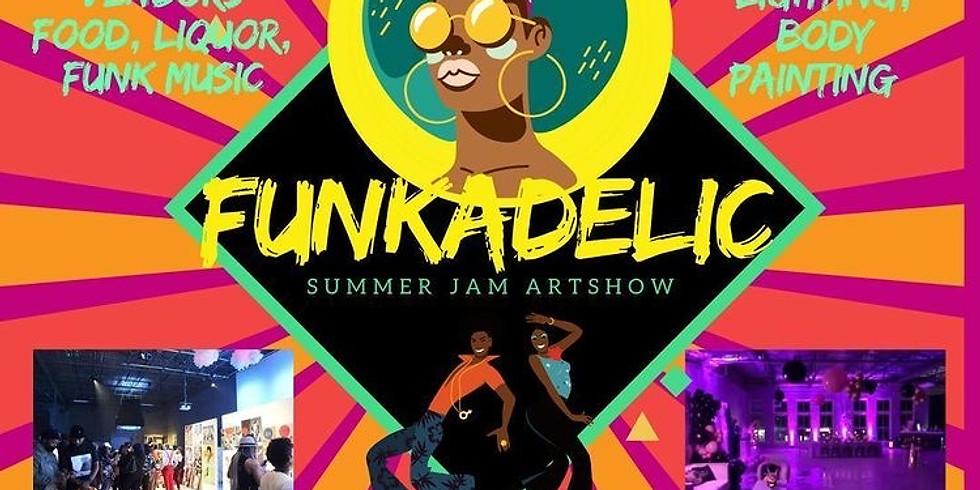 Funkadelic Summer Jam Art Show