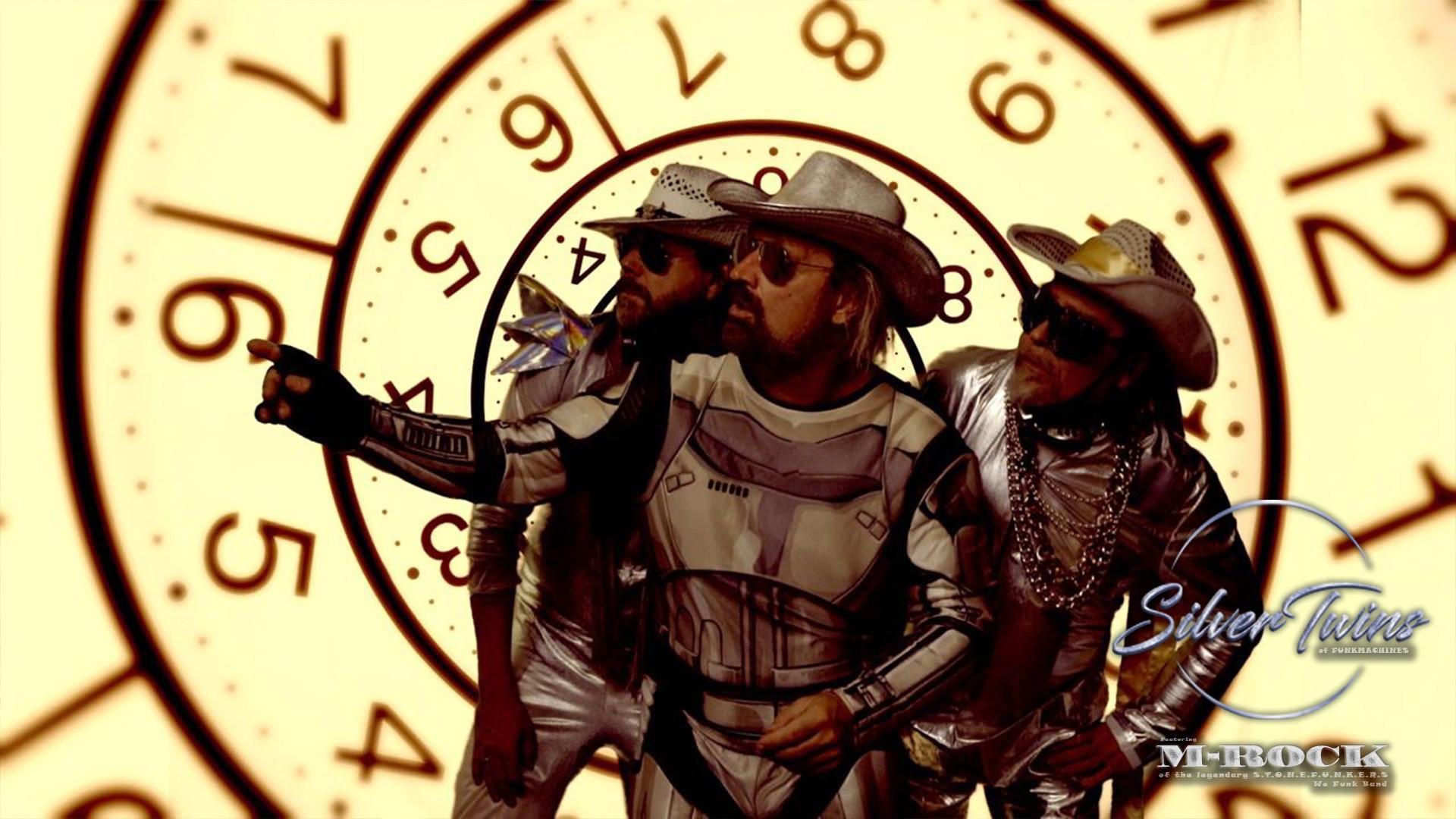 Time SilverTwins of funk alla stor klock