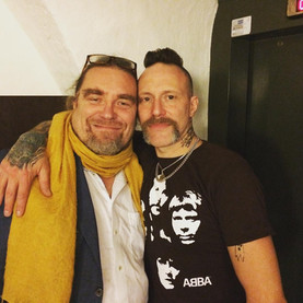 Ralf, Mustasch, Fronkpac Silvertwins of funk