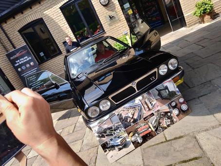 Dads Lancia birthday gift