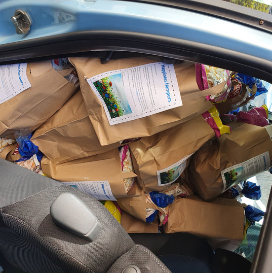 Happiness Hampers Car