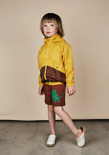 mini rodini Draco SP SWEATSHORTS BROWN
