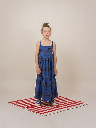 BOBO CHOSES  Stripes Linen Princess Dress