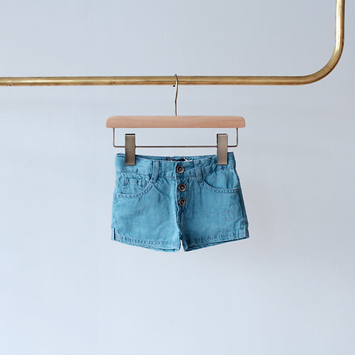 TOCOTO VINTAGE DENIM SHORT PANTS S1118