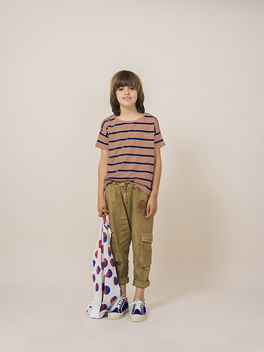 BOBO CHOSES Breton Stripe Shortsleeve T-shirt