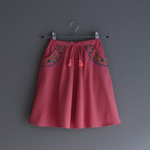 Louise Misha Skirt Sands Groseille