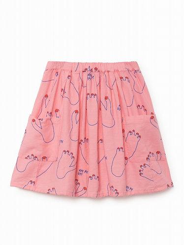 BOBO CHOSES Footprint Pocket Skirt