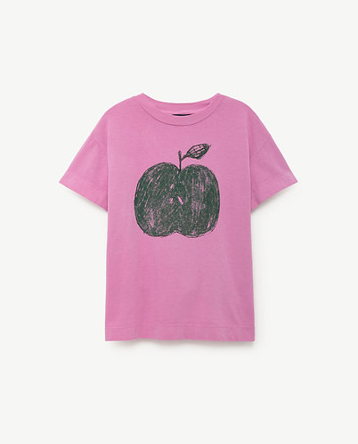 The Animals Observatory ROOSTER T-SHIRT FUCHSIA APPLE