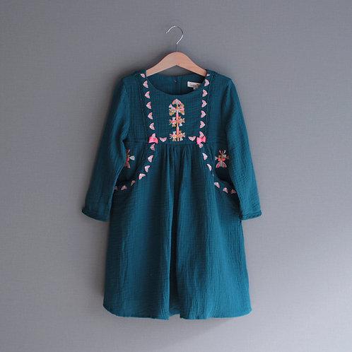 Louise Misha Dress Ellaba Peacock