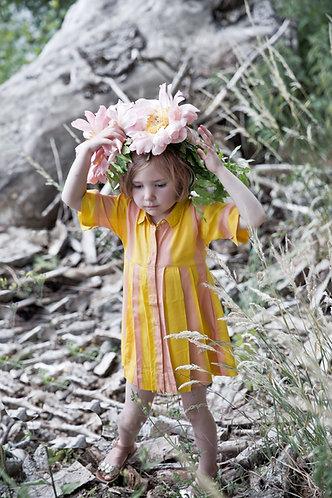 morley HATSUMI BIGSTRIPE SUN DRESS
