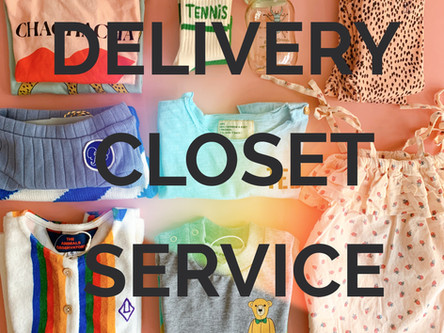 DELIVERY CLOSET SERVICE 開始のお知らせ