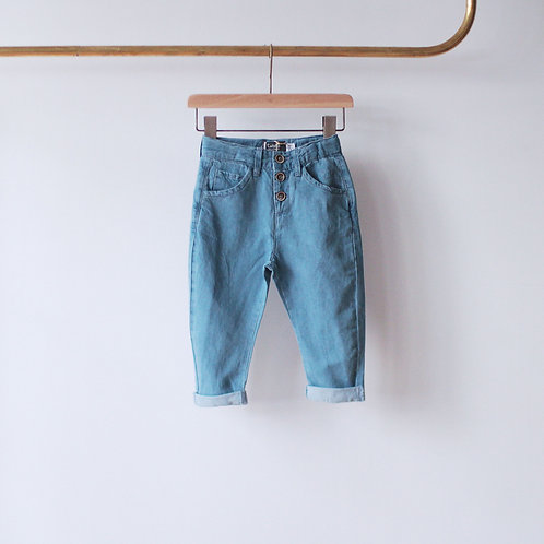 TOCOTO VINTAGE DENIM PANTS S01218