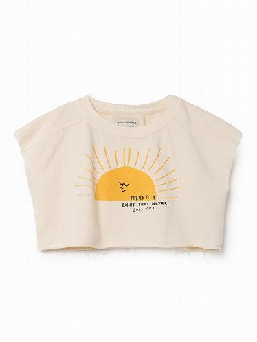 BOBO CHOSES Sun Cropped Sweat shirt