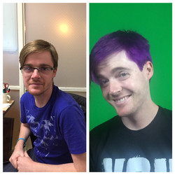 Purple Hair for Jack at Twitch