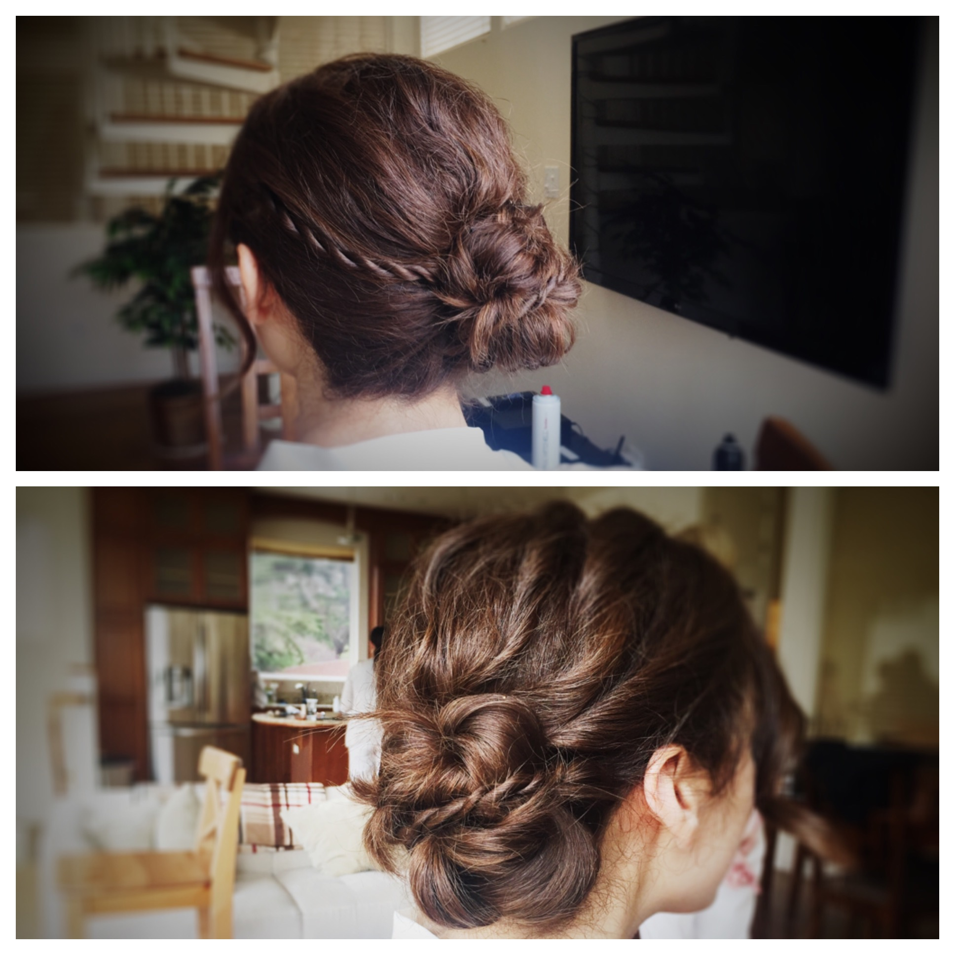 Romantic Wedding Bun