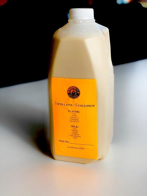 Half Gallon Iced Latte