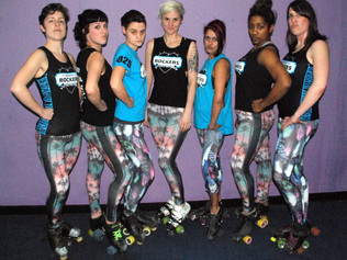 Keep the Brighton roller derby team rolling!