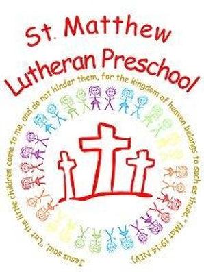 St. Matthew Lutheran Preschool Port Angeles, WA Logo