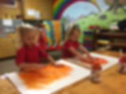 pumpkin finger paint 2.JPG