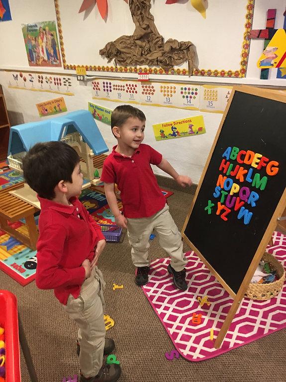 St. Matthew Lutheran Preschool Port Angeles, Washington Learning the Alphabet