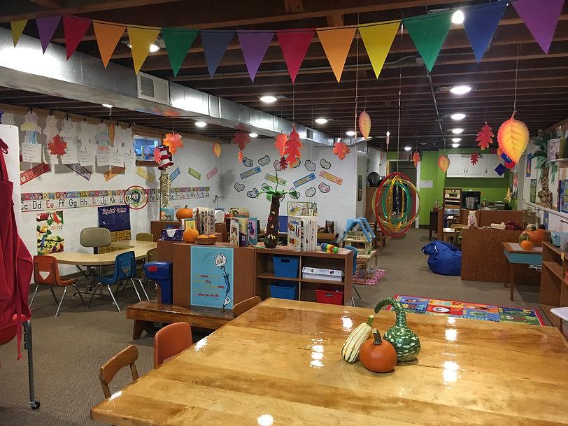 Preschool Room St. Matthew Lutheran Preschool Port Angeles, Washington