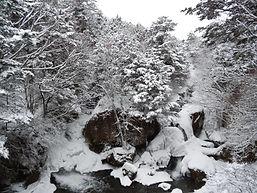 茶屋から臨む龍頭の滝・冬.JPG
