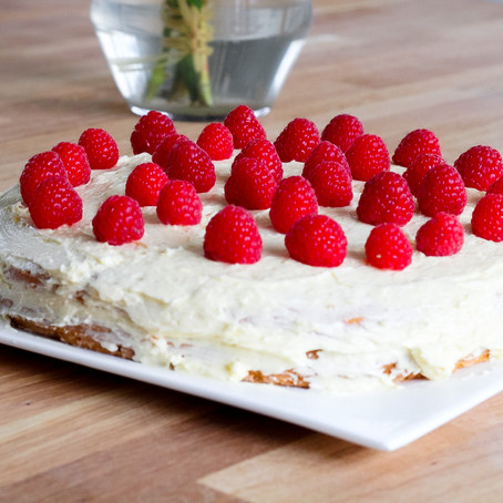 La recette du gâteau d'anniversaire de Maël