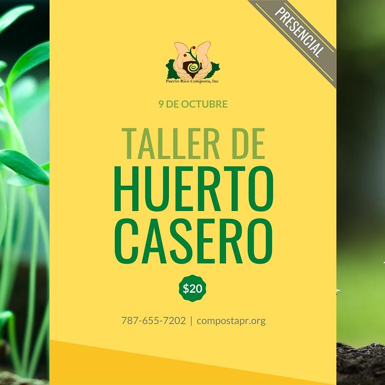 Taller de Huerto Casero