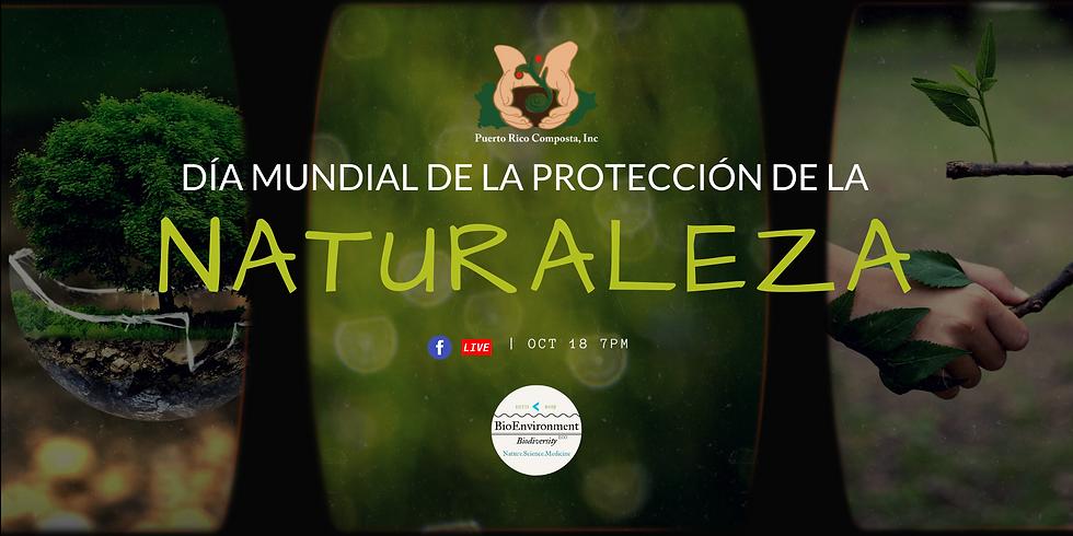 FB Live: Día Mundial de la protección de la Naturaleza