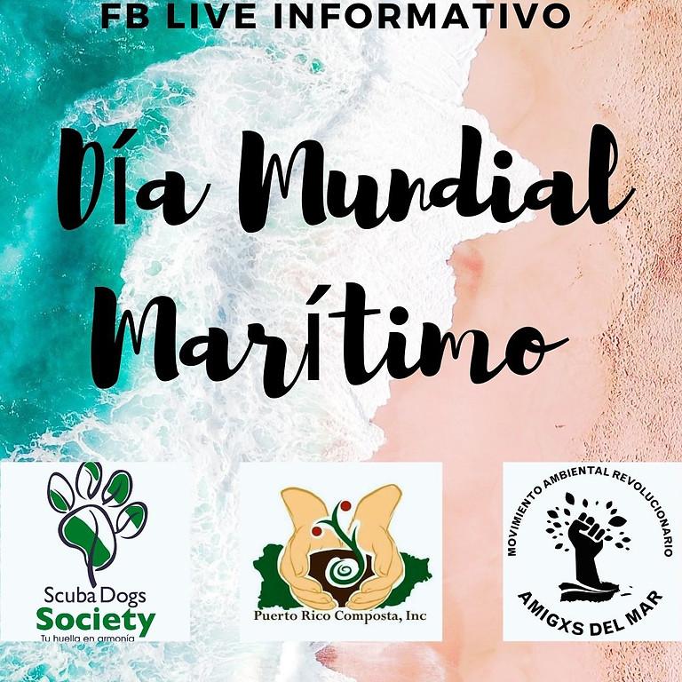 Facebook Live: Día Mundial Marítimo