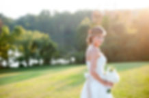 Outdoor bridal portrait on the terraces of the elegant and historic Clover Forest Plantation Estate, showcasing the photographer's keen artistic eye and mastery of natural lighting