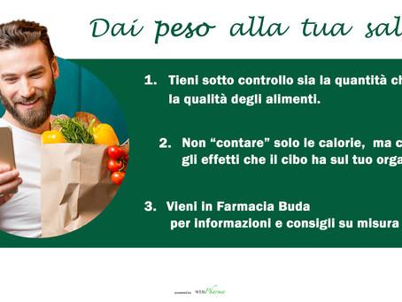 Controllo del peso : un'esigenza di salute.