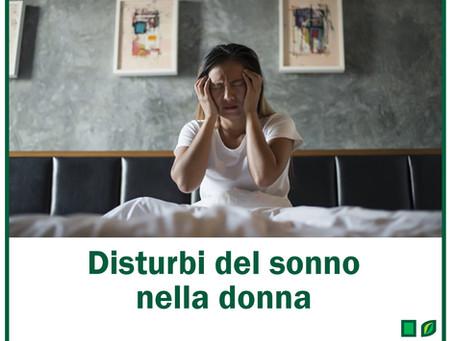 Disturbi del sonno nella donna