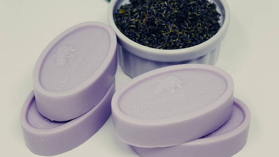 Lavender and Vanilla Creme with Goat's Milk