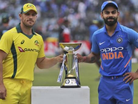 India vs Australia 2020 updates