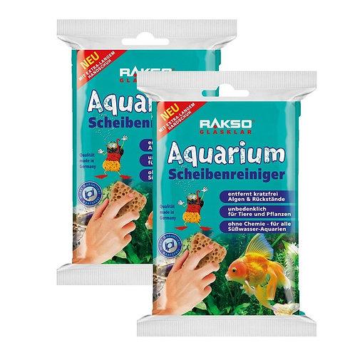 RAKSO Aquarium-Scheibenreiniger rostfrei  Glasreiniger