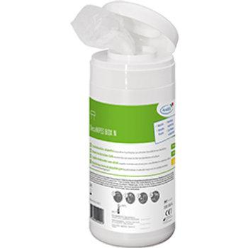 DecaWIPES BOX 100Stk Desinfektionstücher