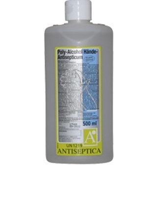 Antiseptica Poly Alcohol-Händedesinfektion 500ml