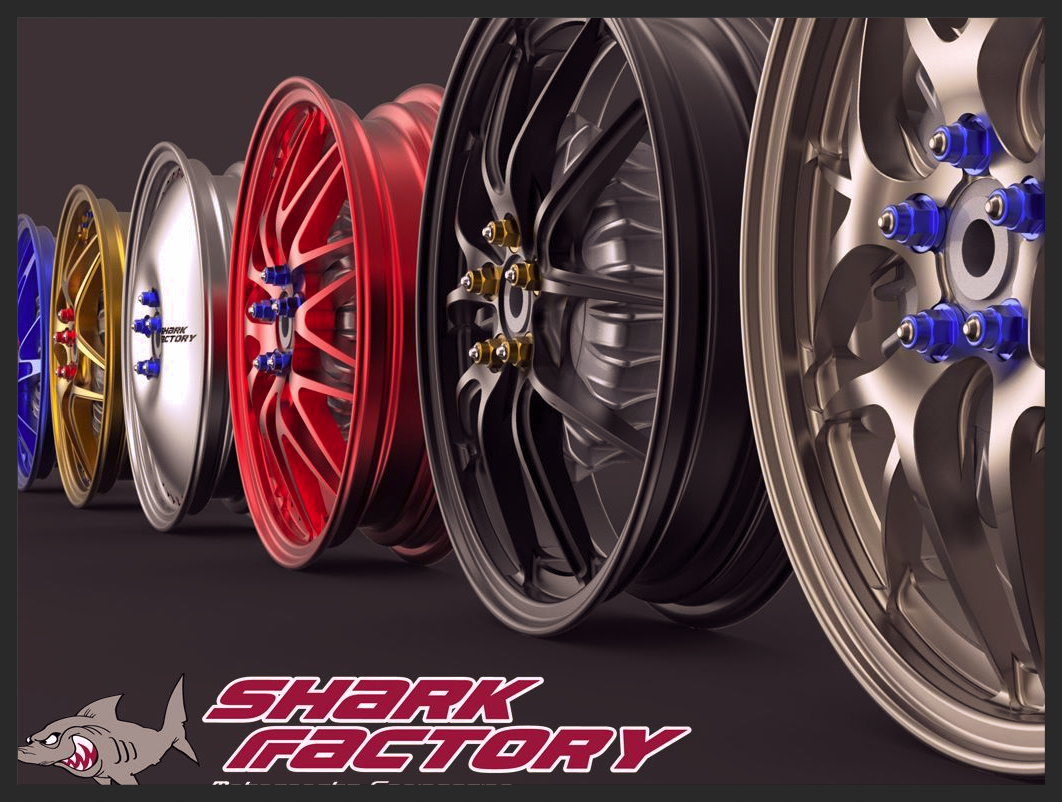 Shark Factory racing wheels