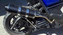 PG B3 exhaust & PG mono shock kit