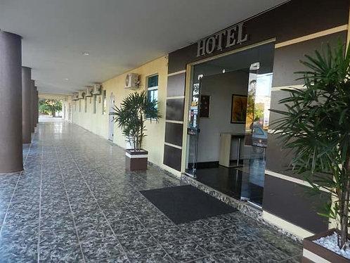 Hotel no Centram de Palmas, troco por Fazenda.