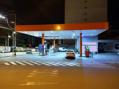 Vende Posto de combustível e conveniência.