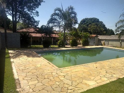 Vendo Linda Chácara urbana em Hortolândia SP asfaltado piscina estudo Permuta.