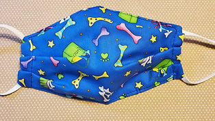 Blue w Stars, Lunch Bag