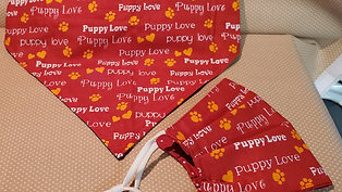 puppy love bandanna