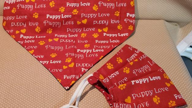 puppy love bandanna